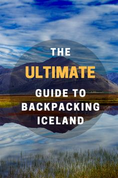 backpacking Iceland on a budget