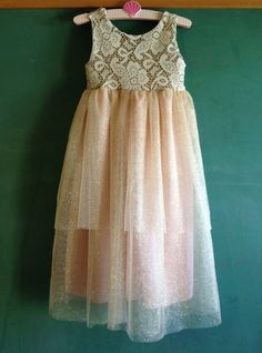 Wee Blush Gown. $85.00, via Etsy. For Ella Bella