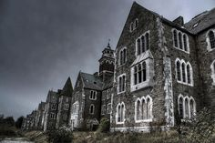 Our Lady's Hospital aka Atkins Hall. Abandoned asylum, Cork, Ireland