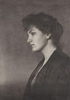 Alma Mahler (1879 -1964) surrounded herself and became involved with many notable men - Gustav Klimt, composer Gustav Mahler, Bauhaus architect Walter Gropius, writer Franz Werfel, artist Oskar Kokoschka.