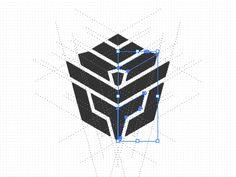 Foxy Nomad Logo by Gert van Duinen Identity, Chalkboard Poster, Letter Logo, Logo Design Inspiration, Art Logo, Tool Design, Logo Branding, Paper Art, Monogram