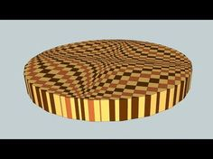 "Making a ""Round Wave"" 3D end grain cutting board - YouTube"