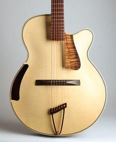 Ken Parker Olive Branch Arch Top Acoustic Guitar (2006),   Reverb