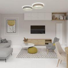 """Polubienia: 15, komentarze: 0 – Aleksandra Janiszek (@ajaniszek.architekturawnetrz) na Instagramie: """"Punktem wyjścia we wszystkich projektach jest u mnie wywiad z inwestorami - na początku ustalamy…"""" Office Desk, Furniture, Home Decor, Living Room, Desk Office, Decoration Home, Desk, Room Decor, Home Furnishings"""