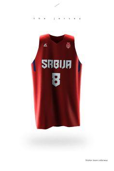 2015 Serbia basketball uniforms on Behance