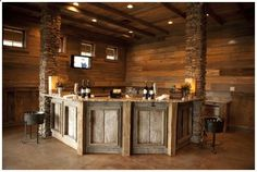 diy home bar | rustic Bar – Google Search is creative inspiration for us. Get more ...