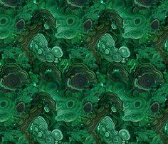 Malachite fabric fabric by ravynka on Spoonflower - custom fabric - Can't believe it's fabric!