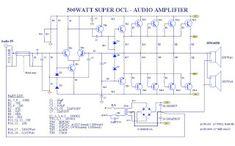 Creative Audio: PCB elrendezés felsővezeték 500watt