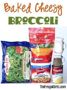 Baked Cheesy Broccoli Recipe! ~ from TheFrugalGirls.com ~ your entire family will look forward to this easy, delicious veggie dish topped with cheese! Make it for a dinner side, or add it to your holiday menu! #recipes #thefrugalgirls