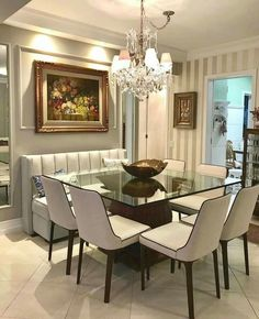 Dining Area, Dining Bench, Dining Chairs, Dining Room, Creative Design, Interior Design, Furniture, Elegant Designs, Home Decor