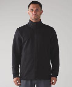 Men's Running Jacket - (Black, Size M) - Mainstay Jacket - lululemon