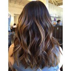 balayage on straight brown hair - Google Search