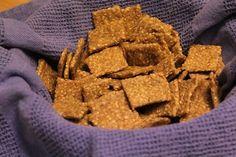 Sesame Einkorn Crackers
