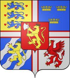 Armoiries Eric de Poméranie, roi de Danemark