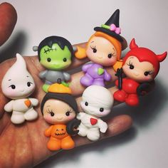 1 million+ Stunning Free Images to Use Anywhere Polymer Clay Halloween, Polymer Clay Christmas, Cute Polymer Clay, Cute Clay, Polymer Clay Dolls, Polymer Clay Projects, Polymer Clay Creations, Diy Clay, Moldes Halloween