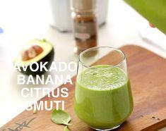 Smuti avokado banana ingver