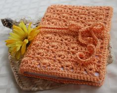 Crochet Book Cover - Bible Cover - Journal Cover