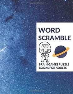 Word Scramble: Brain Games Puzzle Books For Adults, Smart Kids, Beginners, Pros and Elderly with More Word Scramble Puzzle Book for Adults Includes Solutions with INCH Word Brain Games, Puzzle Books, Words, Horse
