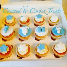 Would you like to add a creative flair to your baby shower? Of course you would! #CortezTreats #lifeisbetterwithcake #ediblegoodness #cake #cupcake #babyshower #itsaboy