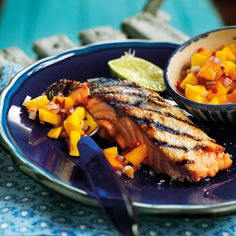 So quick and delicious, this salsa recipe will work well with any fish, and you can up or down the chilli content to taste