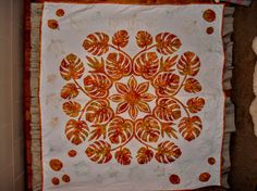 Hawaiian Quilt by Jan MacKay shared on MyQuiltPlace.com