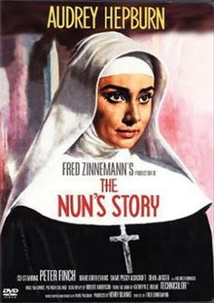 """Filmes, filmes, filmes!: """"The Nun's Story"""" (1959) e outros tesouros de Audrey Hepburn"""
