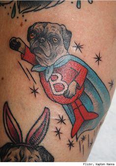 38 Pawesome Dog Tattoos - Urlesque