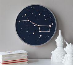 DIY Constellation Art // Big Dipper Light