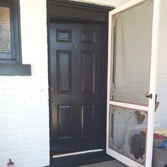Front doors can benefit from looking elegant and regal!