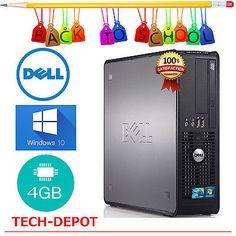 Dell-Desktop-PC-Tower-Computer-Windows-10-Core-2-Duo-4GB-RAM-250GB-HD-FAST