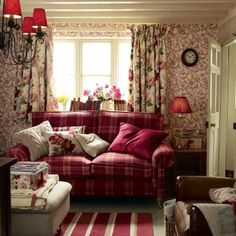 Laura Ashley country home