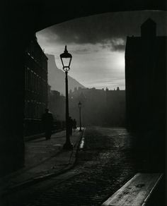 "Bill Brandt ""Edinburgh,"" 1942 From The Photography of Bill Brandt from the metropolitanline &  liquidnight"