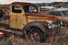 . Old 40-something Chevy Truck (I think)
