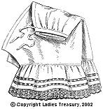 Free Pattern: Ladies' Drawers 1907 - The Ladies Treasury of Costume and Fashion
