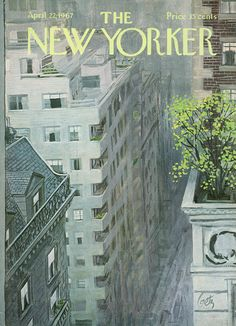 The New Yorker - Saturday, April 22, 1967 - Issue # 2201 - Vol. 43 - N° 9 - Cover by : Arthur Getz