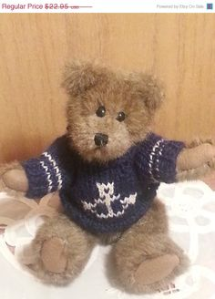 """ON SALE BOYD'S Bear: The Archive Collection Teddy Bear """"Christian"""" - pinned by pin4etsy.com"""
