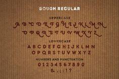 Bough. Vintage hand drawn typeface by Vintage Voyage Design Co. on @creativemarket