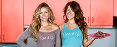 These girls make really fun and good videos and blogs on health and fitness and healthy diets.