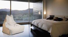 Bean Bag Sofa, Bed, Furniture, Design, Home Decor, Geometric Designs, Chic, Luxury, Decoration Home