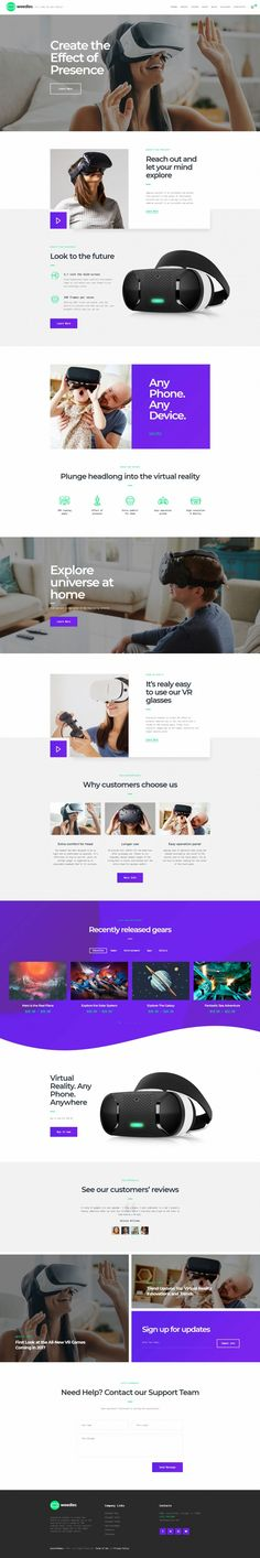 Weedles | Virtual Reality Landing Page & Store