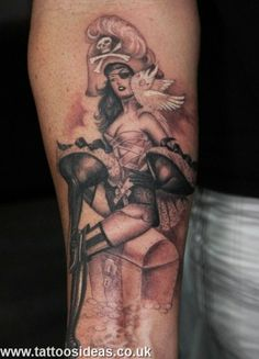 Pin-up Tattoos Ideas