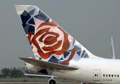 British Airways B747-400, England (Chelsea Rose) World Art tailfin