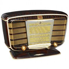 Radio SNR Model Excelsior 52, 1950s : Lot 325