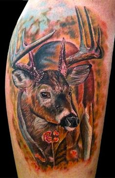 deer hunting memorial tattoo tattoo portfolio pinterest deer hunting a deer and memorial. Black Bedroom Furniture Sets. Home Design Ideas