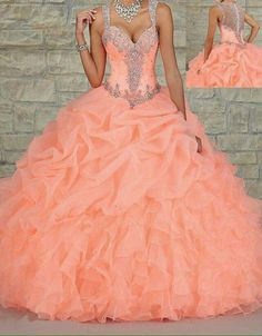 Pretty quinceanera dresses, 15 dresses, and vestidos de quinceanera. We have turquoise quinceanera dresses, pink 15 dresses, and custom quince dresses! Dresses Elegant, Sweet 16 Dresses, Formal Dresses For Weddings, Pretty Dresses, Wedding Dresses, Gown Wedding, Formal Wedding, Formal Prom, Dress Formal