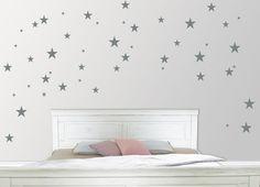 """Wandtattoo  """"Sterne"""" 60-teilig, in 5 Größen von jamsstyle auf DaWanda.com"""