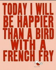 How happy are you today?