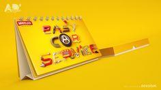 Easy car service AD on Behance #Mockups #3DMockups #Mock_ups