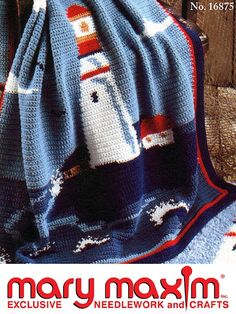LightHOuse afghan. Crochet this Graph-ghan with this wonderful pattern.