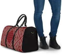 Bandana Styles, Waterproof Fabric, Small Bags, Travel Bags, Plum, Shoulder Strap, The Originals, Luxury, Accessories